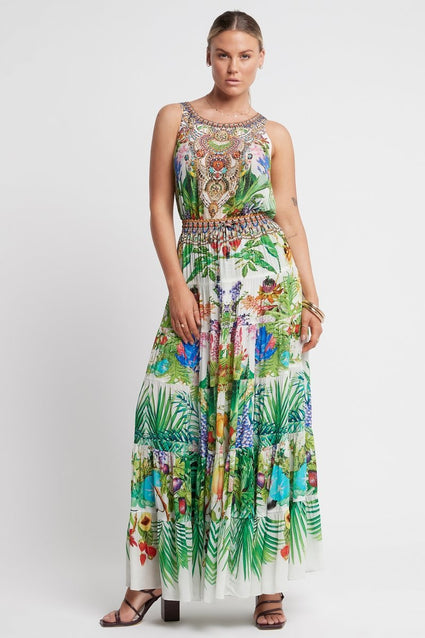 LOVE IN PARADISE MAXI SKIRT - Czarina