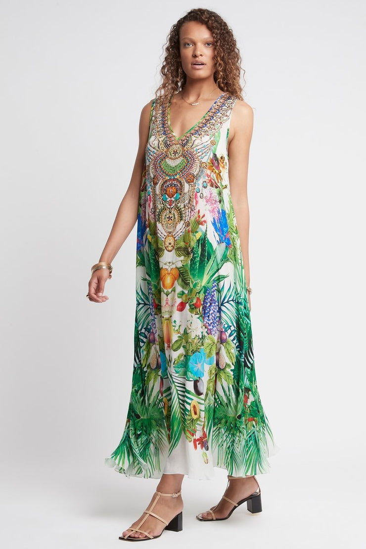 LOVE IN PARADISE SLEEVELESS MAXI DRESS - Czarina