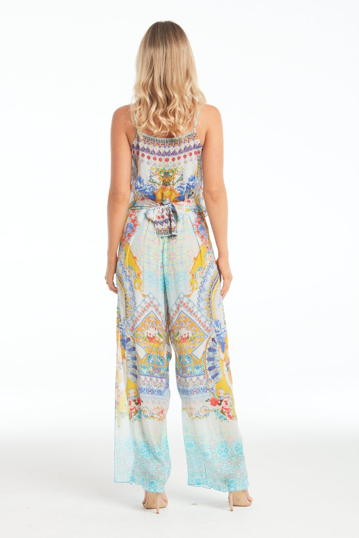 LOVE IN SANTORINI JUMPSUIT - Czarina