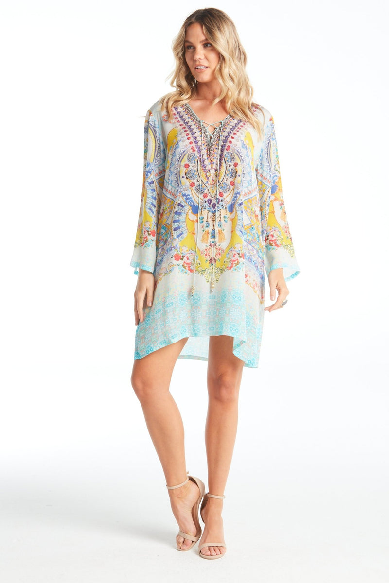 LOVE IN SANTORINI TUNIC - Czarina