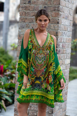 MAKE IT HAPPEN KAFTAN DRESS - Czarina