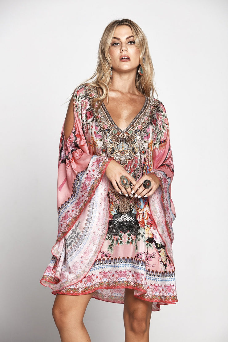 MORE THAN FRIENDS KAFTAN DRESS - Czarina