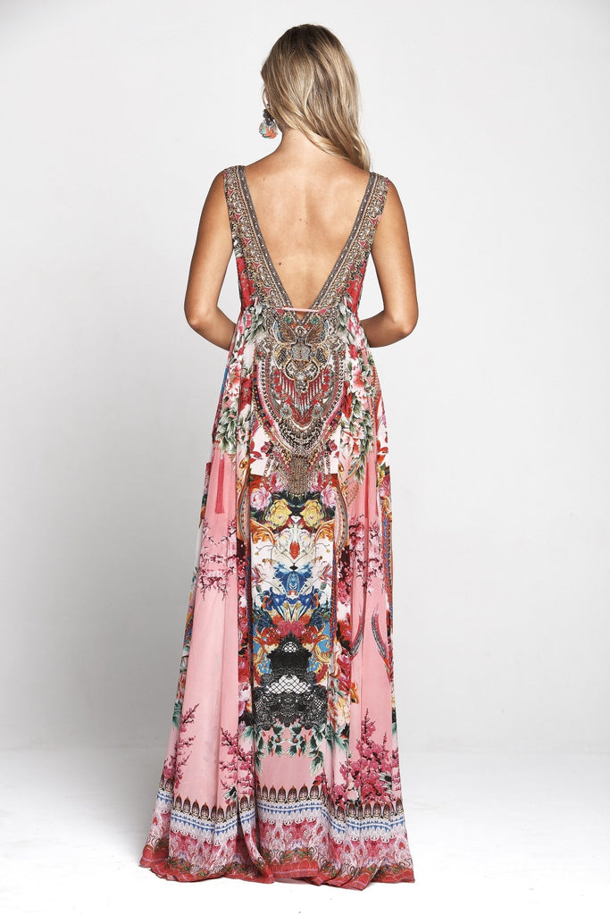 MORE THAN FRIENDS MAXI DRESS - Czarina