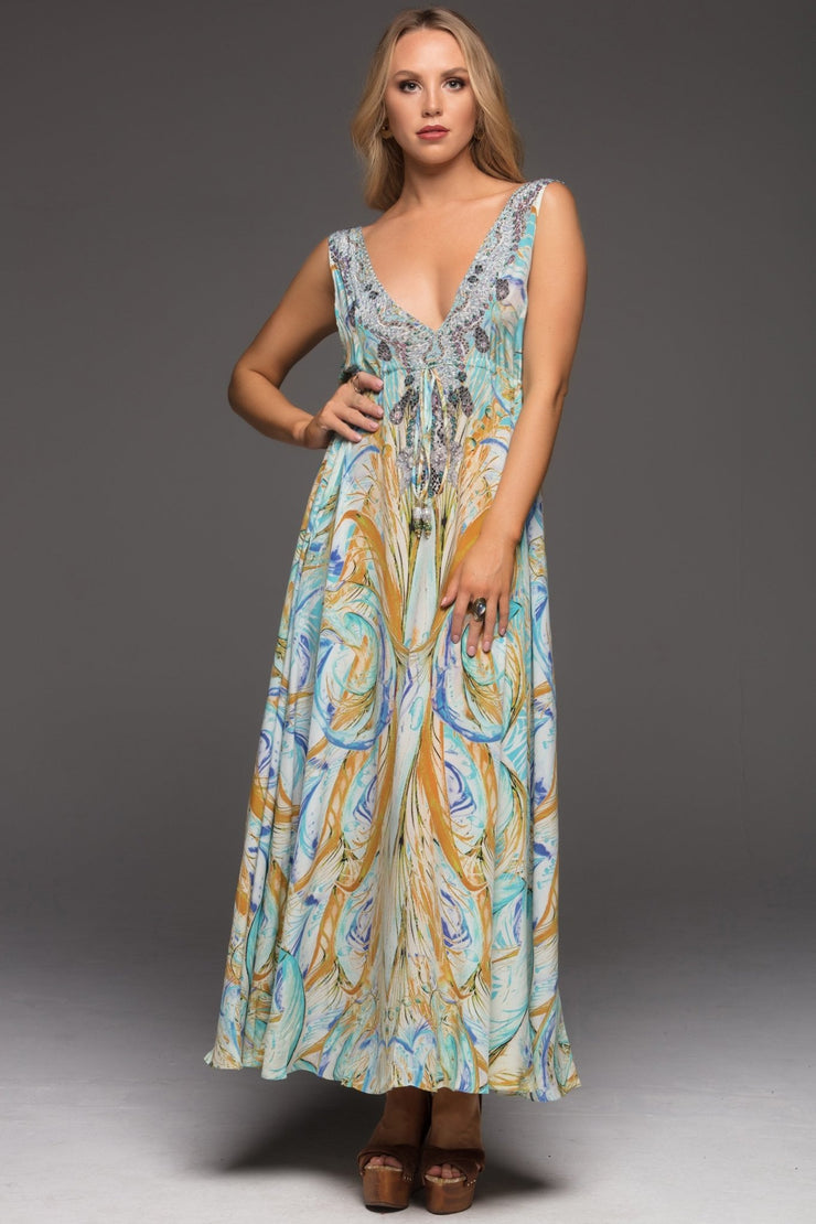 MOSAIC MAXI DRESS - Czarina