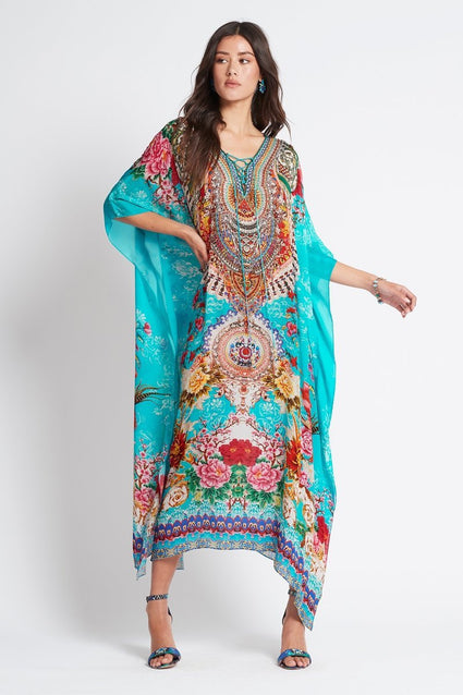 ONCE IN A BLUE MOON MEDIUM KAFTAN - Czarina