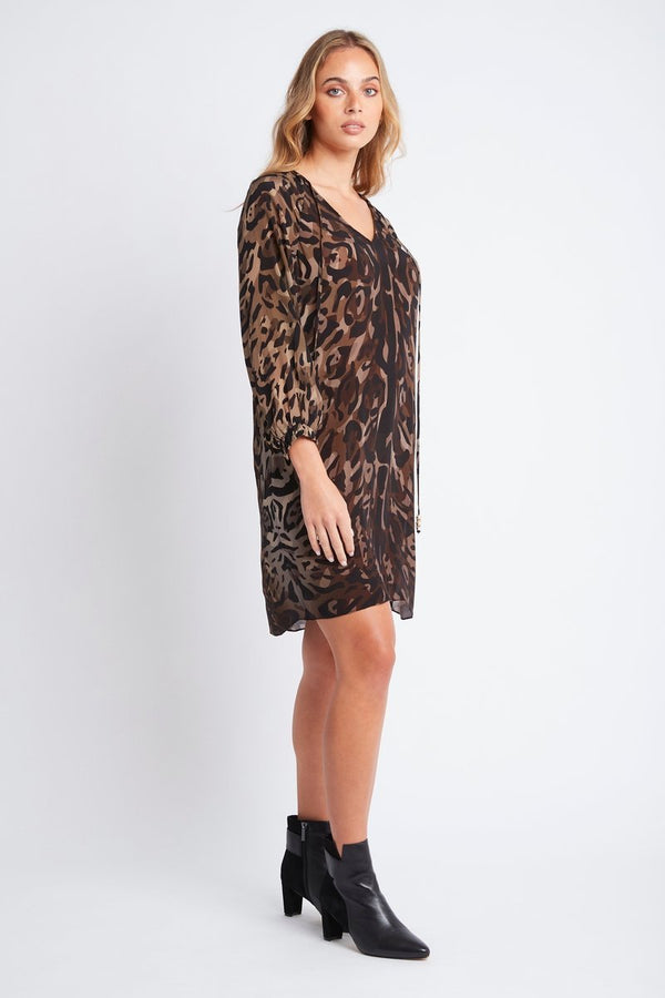 QUEEN OF THE TRIBE SHORT DRESS W CUFF SLEEVES - Czarina
