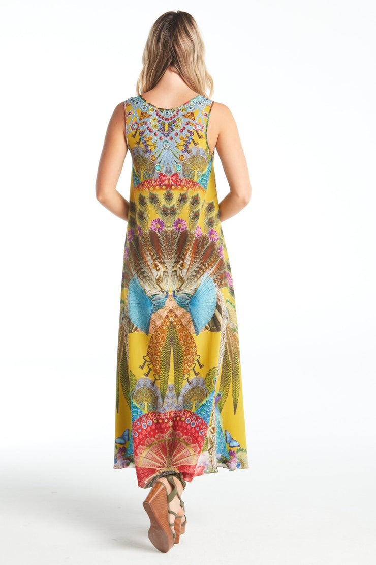 REFUSE TO BE ORDINARY SLEEVELESS DRESS - Czarina