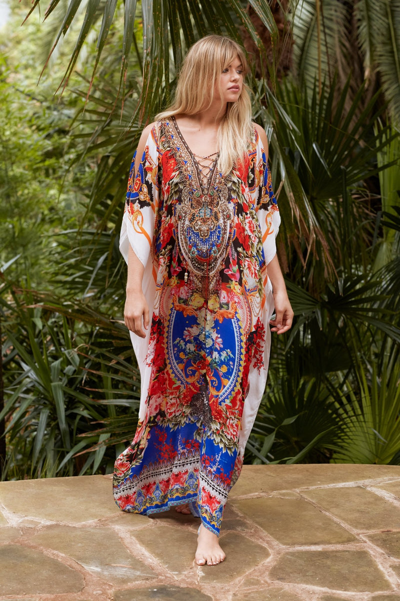 ROYAL PRINCESS LONG KAFTAN W SLIT - Czarina