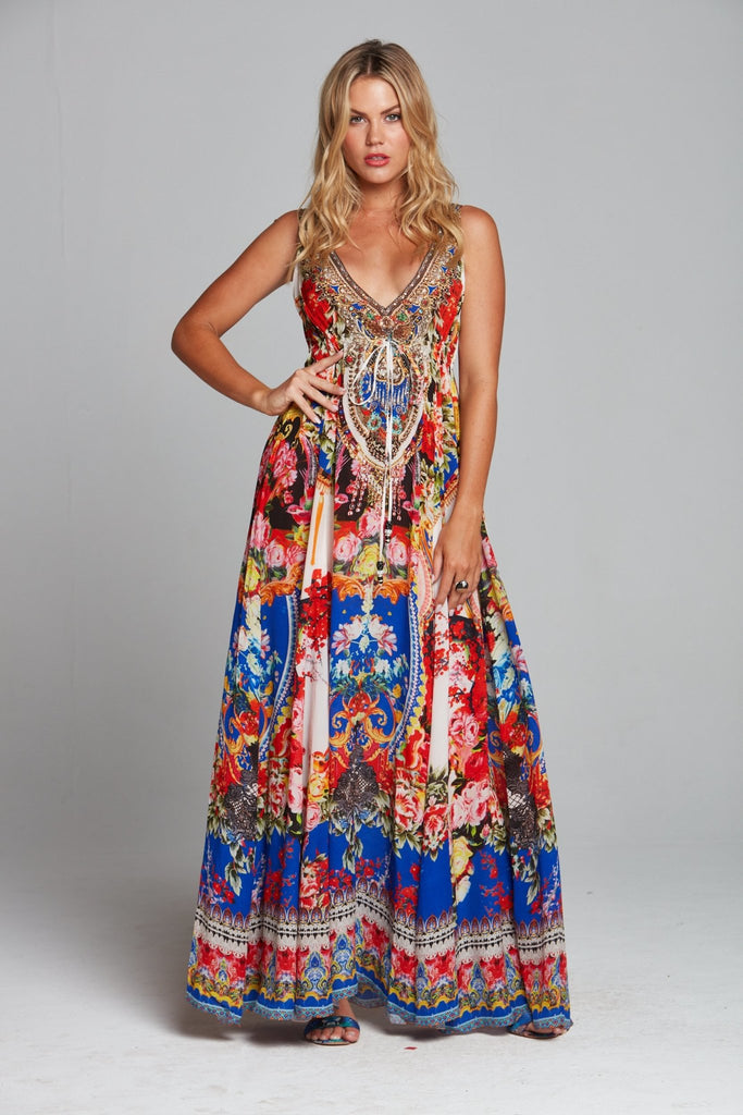 ROYAL PRINCESS MAXI DRESS - Czarina