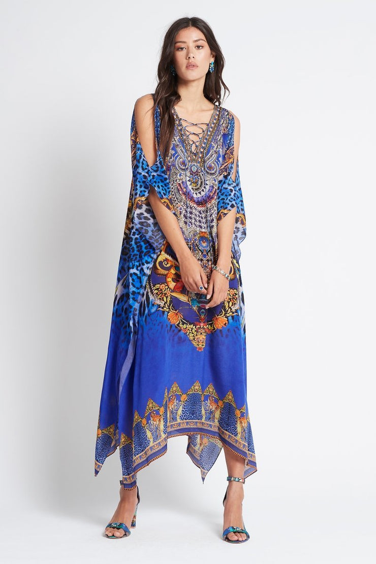 ROYAL SAVANNAH MEDIUM KAFTAN W SLIT - Czarina