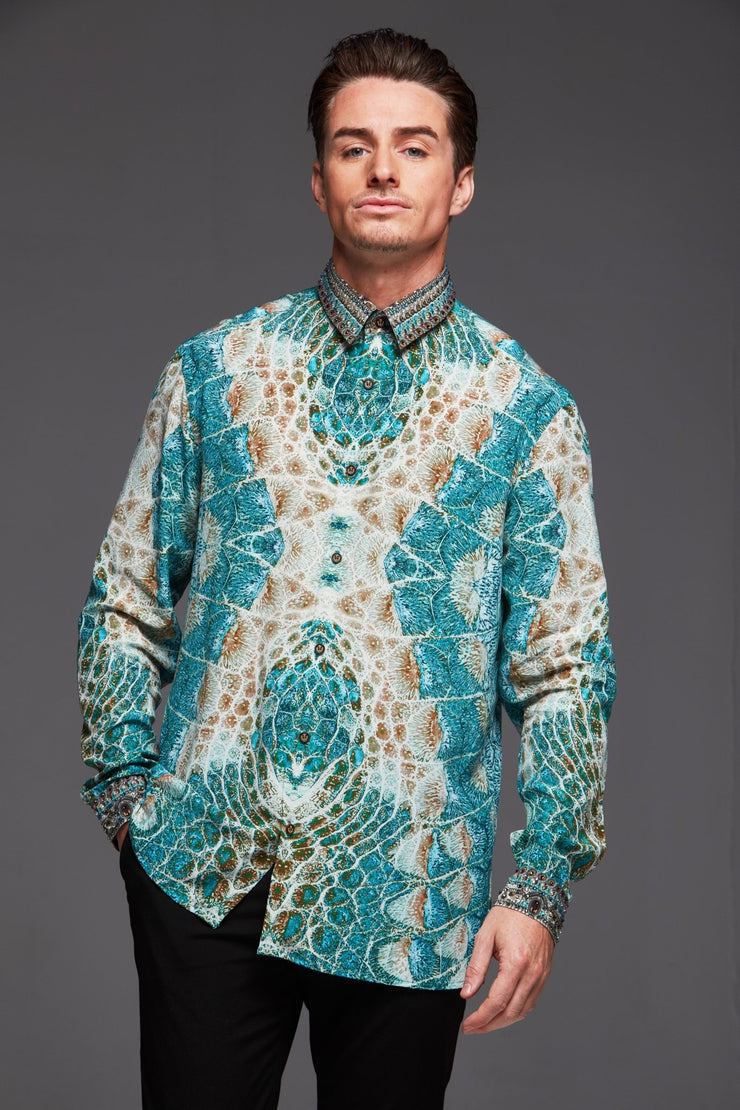 Sans L'Or Silk Men'S Shirt - Czarina