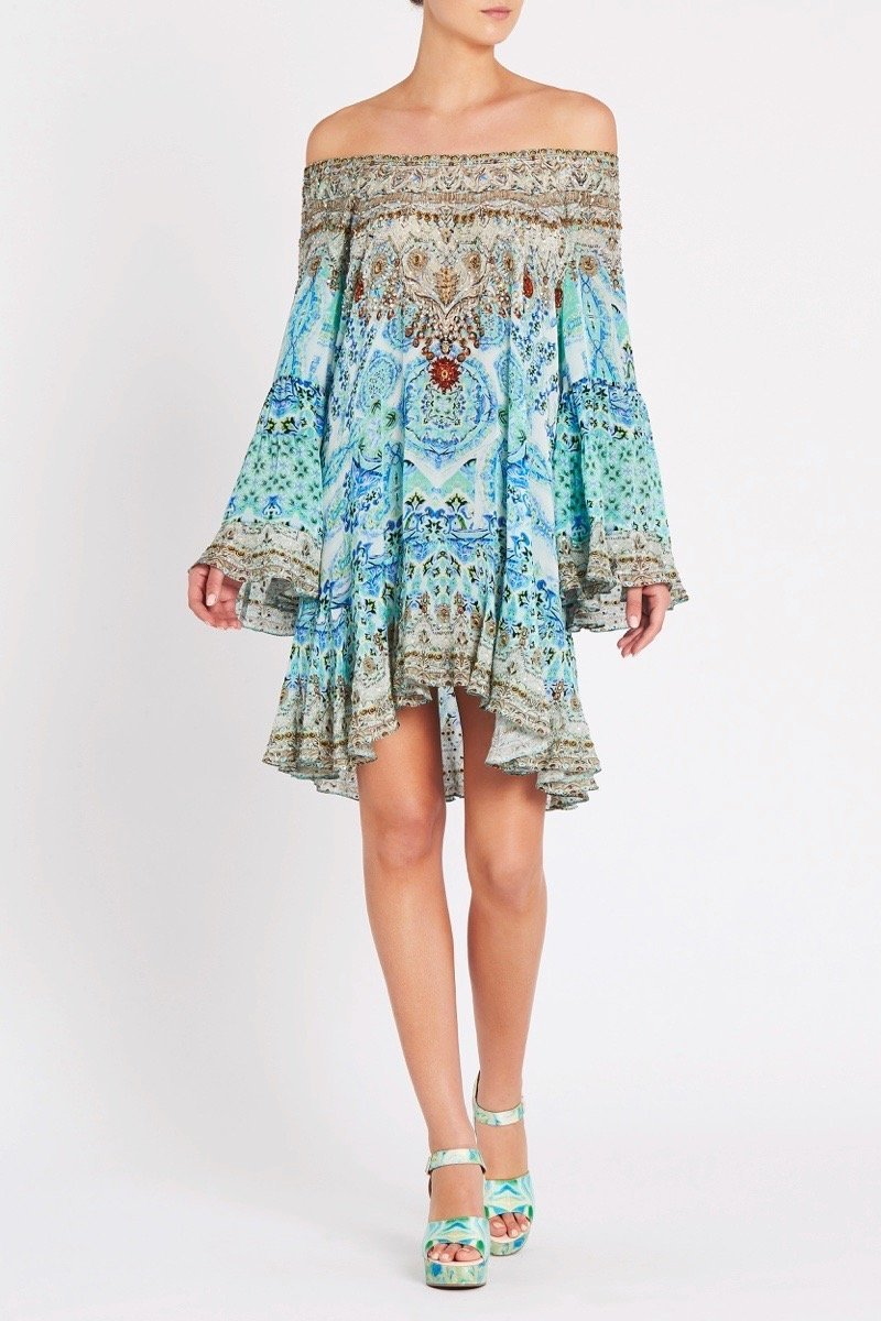SHE'S A WILDFLOWER FRILL DRESS - Czarina