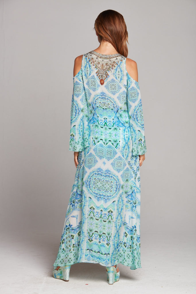 SHE'S A WILDFLOWER MAXI JACKET - Czarina