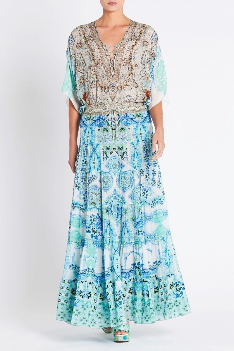 SHE'S A WILDFLOWER MAXI SKIRT - Czarina