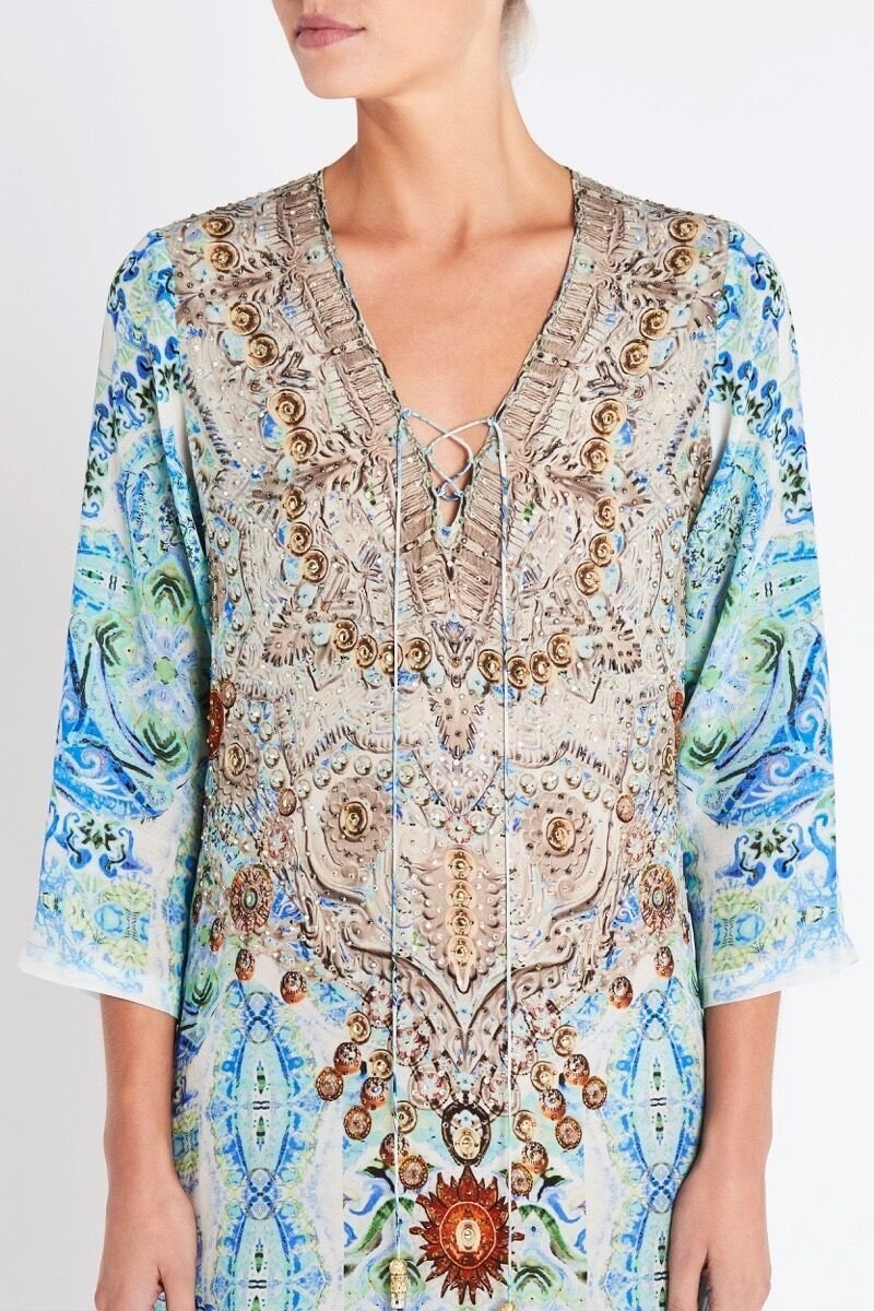 SHE'S A WILDFLOWER TUNIC - Czarina