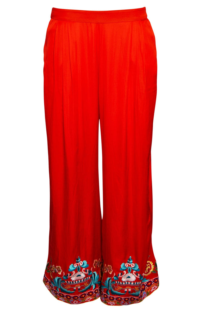 SIMPLY ORANGE PALAZZO PANTS - Czarina