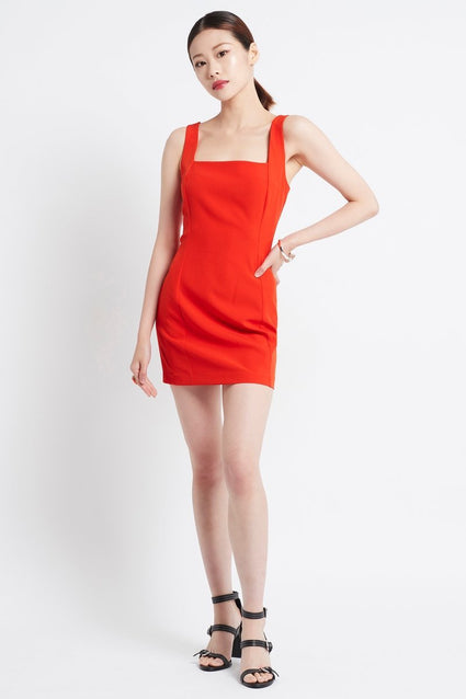 SIMPLY RED ROMANTIC DRESS - Czarina