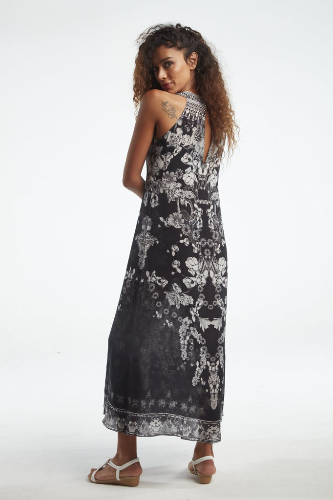 STILL I RISE SLEEVELESS DRESS W RACER BACK - Czarina
