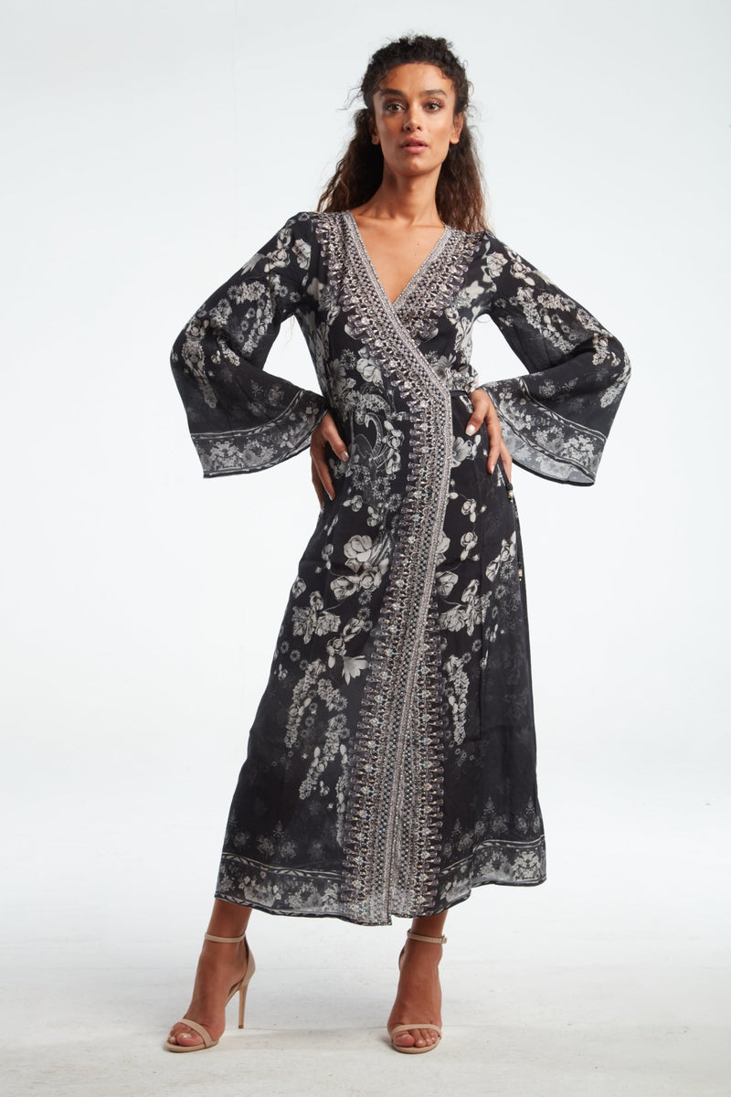 STILL I RISE WRAP DRESS - Czarina