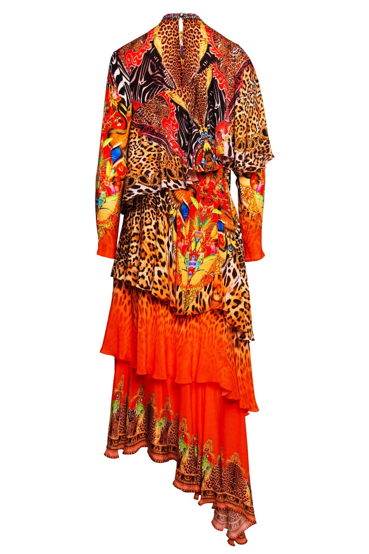 Sunset In Savannah Rara Dress - Czarina