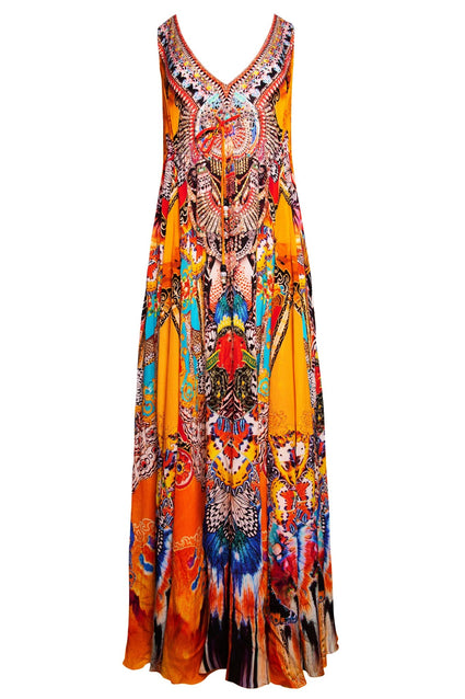 SUNSET KISSES MAXI DRESS - Czarina