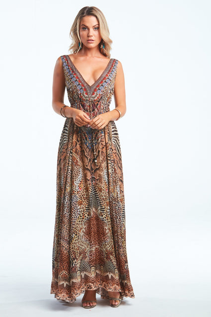 TEMPTATION MAXI DRESS - Czarina