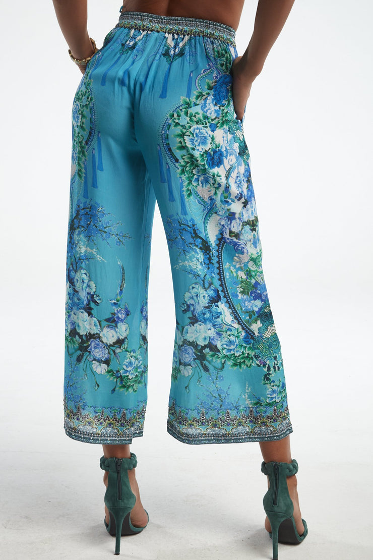 THOSE BLUE EYES PALAZZO PANTS - Czarina