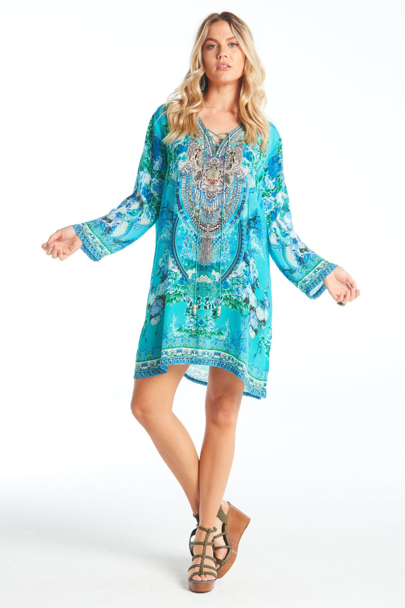 THOSE BLUE EYES TUNIC - Czarina