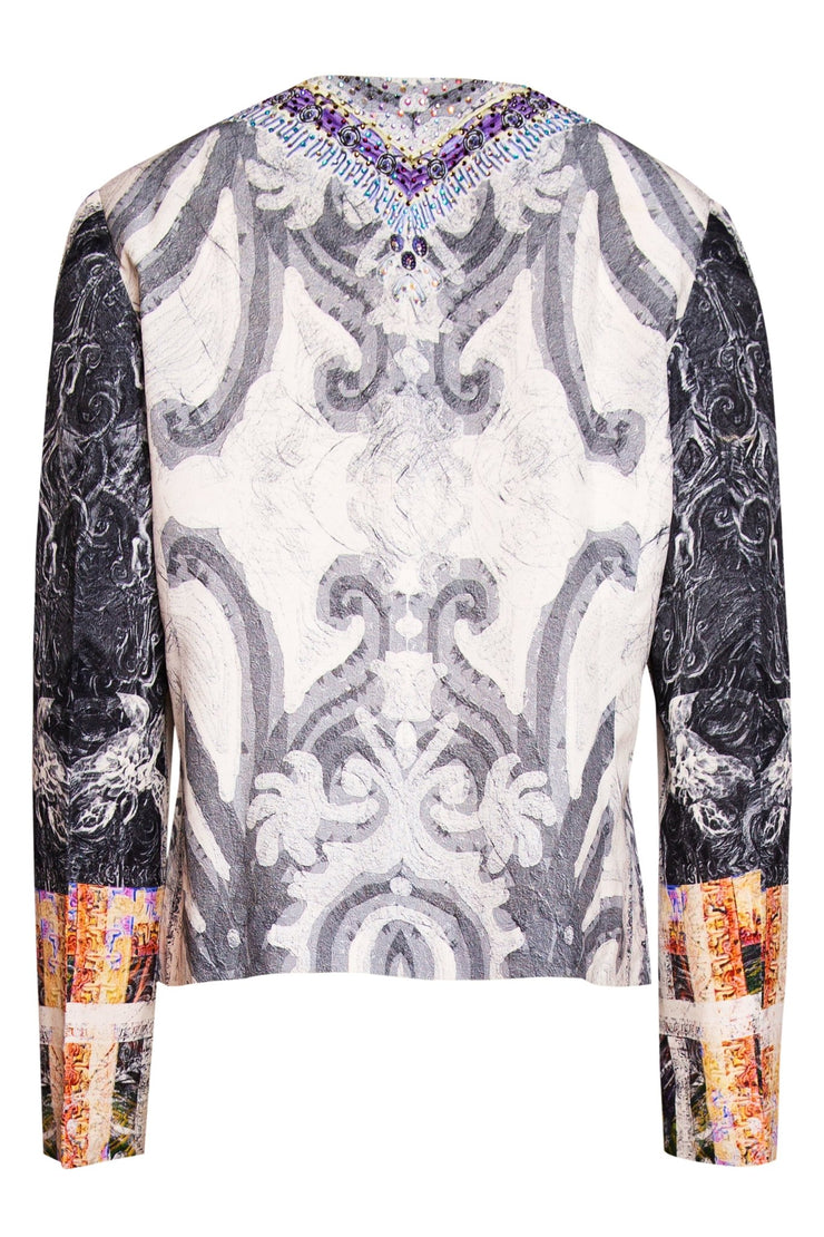 TORTUE SILK JACKET - Czarina