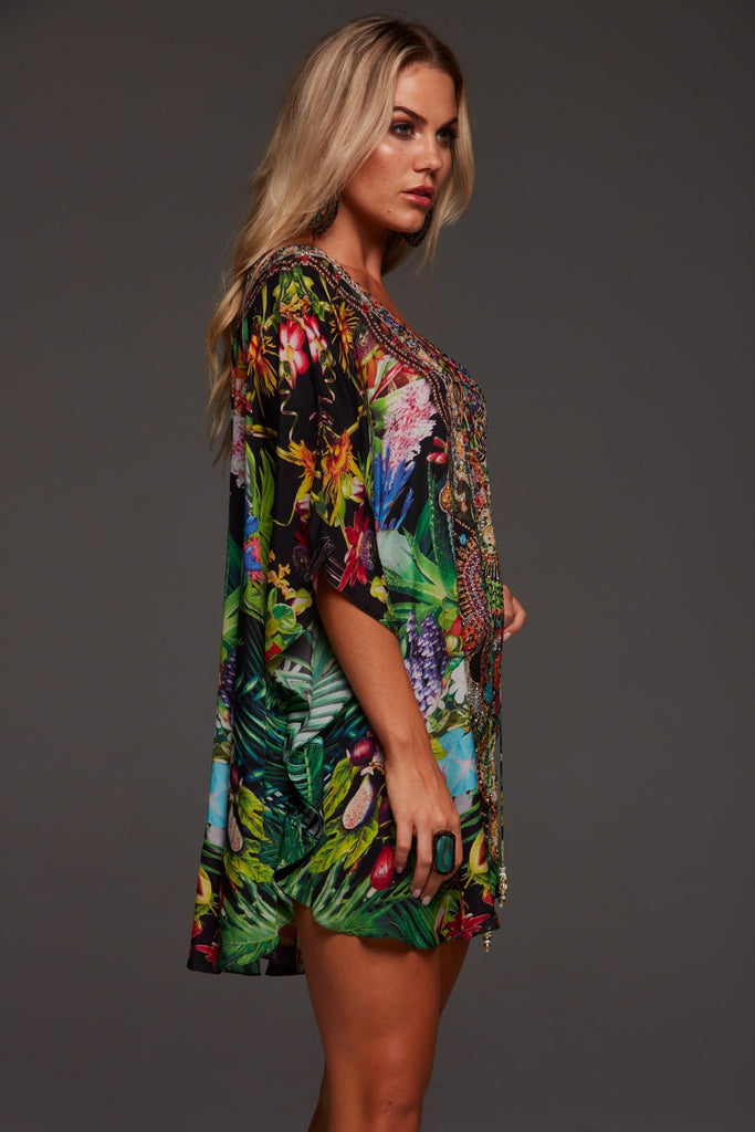 TROPICAL LOVE BUTTERFLY TOP - Czarina