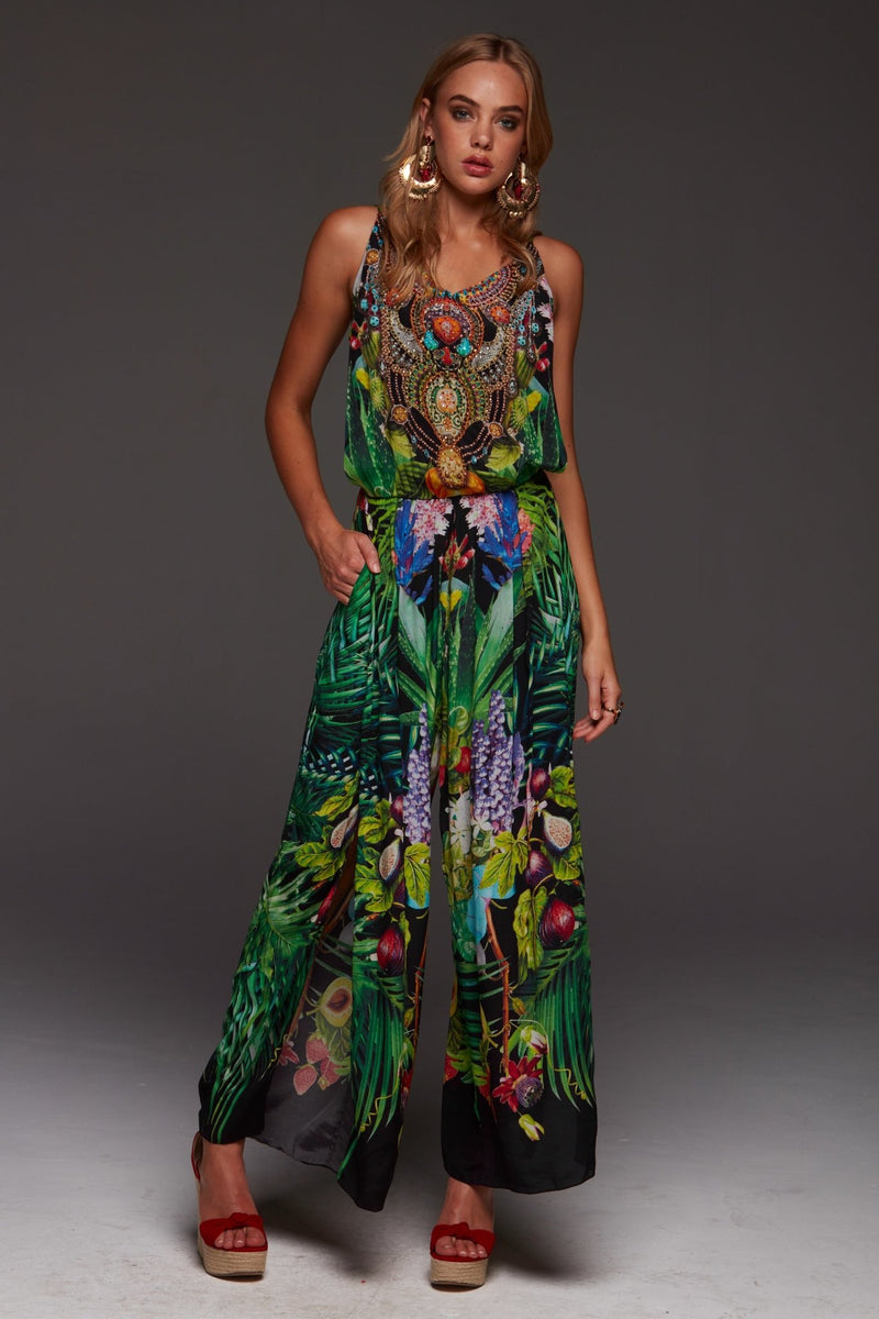 TROPICAL LOVE JUMPSUIT - Czarina