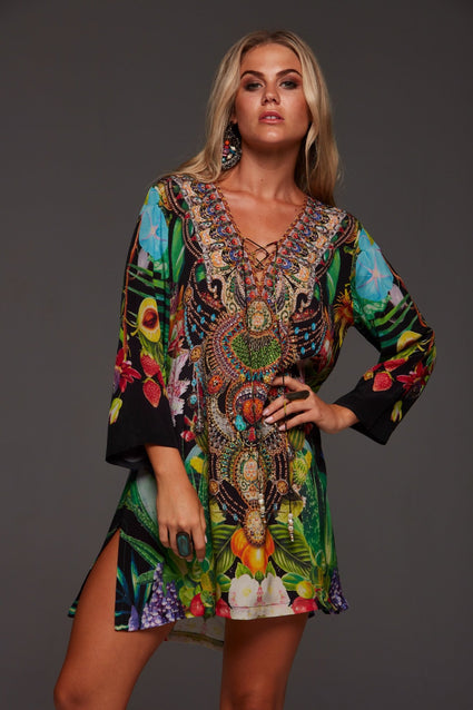 TROPICAL LOVE TUNIC - Czarina