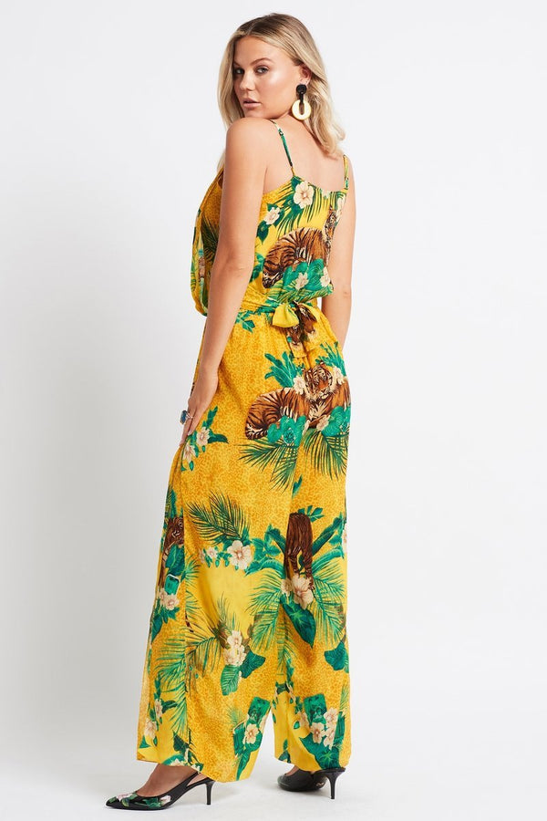 TROPICAL TIGRESS JUMPSUIT - Czarina