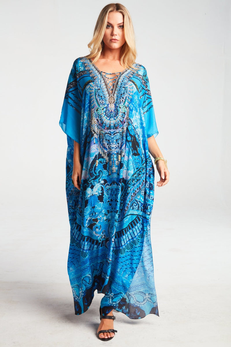 UNFORGETTABLE LONG KAFTAN - Czarina