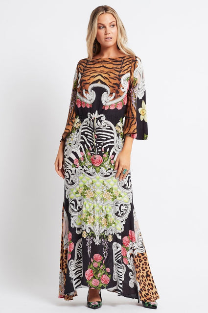 WARRIOR PRINCESS COCKTAIL MAXI DRESS - Czarina