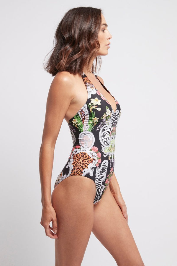 WARRIOR PRINCESS - HALTER NECK ONE PIECE - Czarina