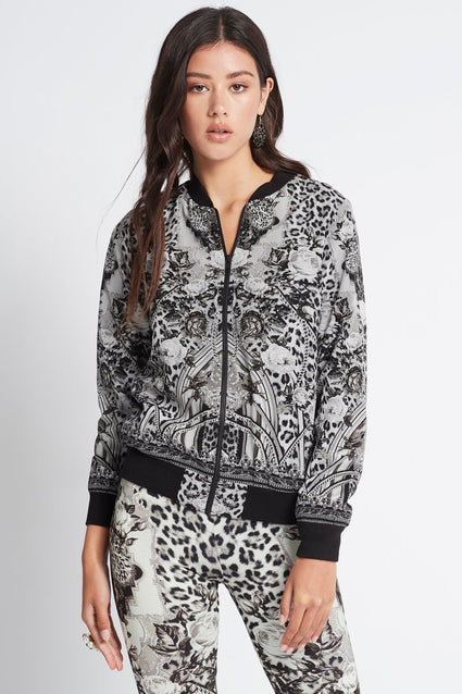 WILD AT HEART BOMBER JACKET - Czarina