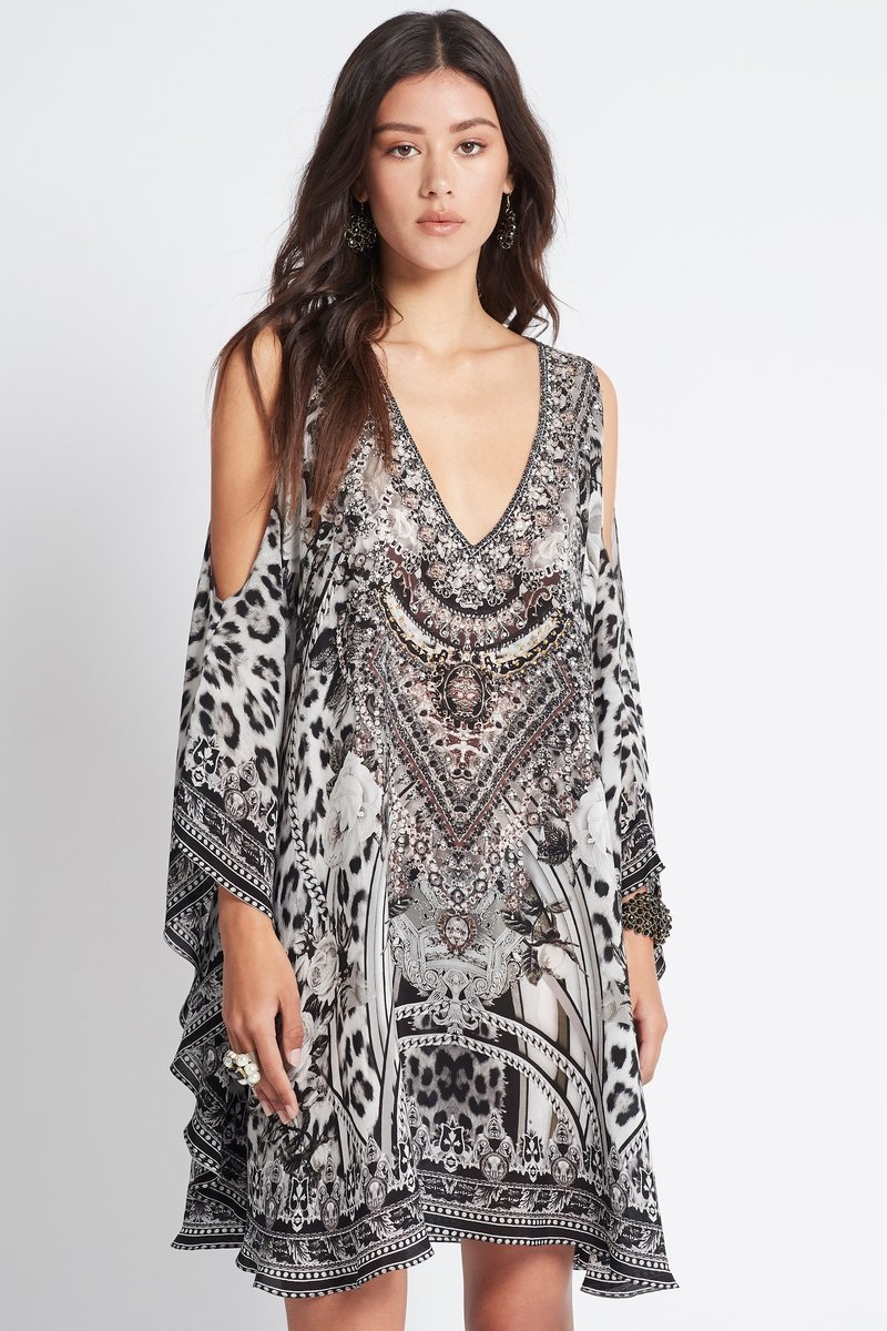 WILD AT HEART KAFTAN DRESS - Czarina