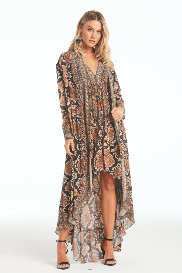 WILD DESERT LONG JACKET - Czarina
