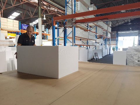 Custom Cutting Polystyrene