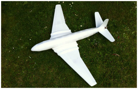 Model aeroplane via www.modelflying.co.uk