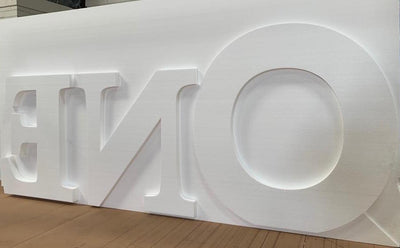 Polystyrene Signs - Letters, Numbers & Props - Foam Sales