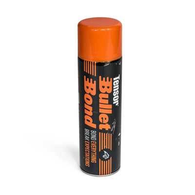 Adhesive - Bullet Bond 500ml Aerosol - Foam Sales