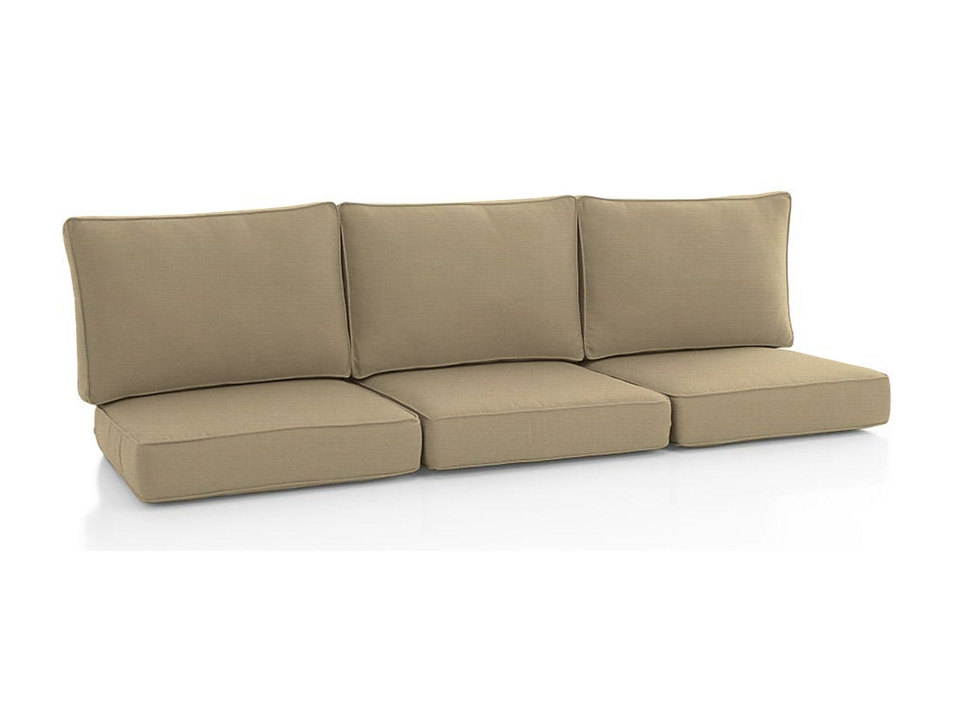 Sunbrella Outdoor Sofa Custom Cushions - Foam Sales