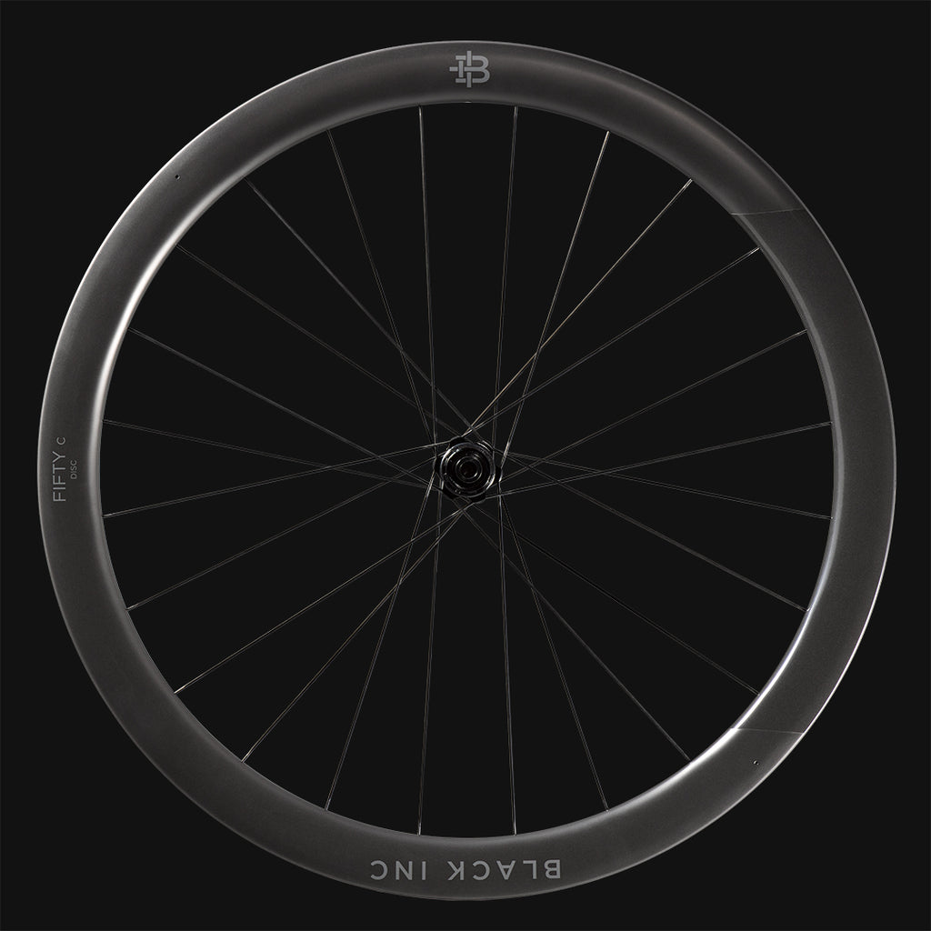 Black Inc Fifty Disc 45mm Clincher Wheelset