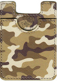 Camo Koala Pouch - Phone Card Holder, Stick On Wallet (Brown Alt)