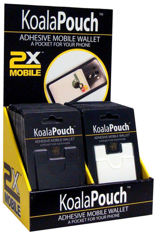 48 Unit Koala Pouch Counter Pack from 2xMobile