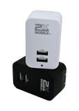 Wall AC Adapter to USB Charger 2xMobile