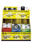2xMobile Cell Phone Accessories Counter Pack