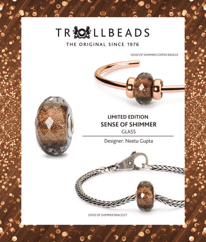 Sense of Shimmer, Trollbeads Limited Edition Black Friday Bead